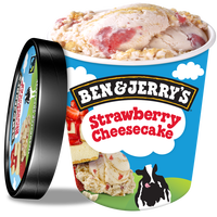 Ben&Jerrys Strawberry Cheesecake