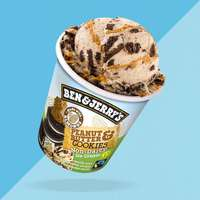 Ben&Jerry's Vegan Peanut Butter & Cookies 465ml